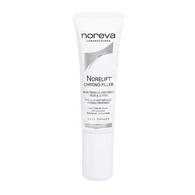 Gel crema pentru conturul ochilor si al buzelor Norelift Chrono-Filler, 10 ml, Noreva