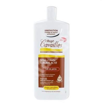 Gel de baie si dus piele sensibila Piersici, 300 ml, Roge Cavailles