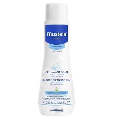 Gel de curățare păr și corp, 200 ml, Mustela