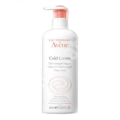 Gel de duș Avene Cold, 400 ml, Pierre Fabre