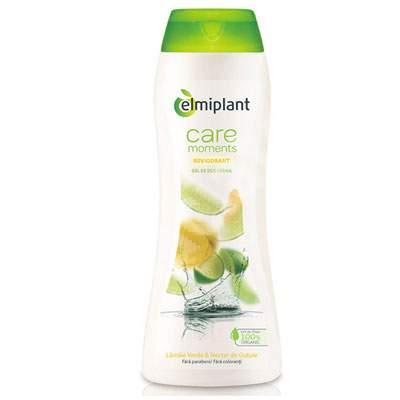 Gel de duș revigorant cremă cu nectar gutui și lămâie Care Moments, 400 ml, Elmiplant