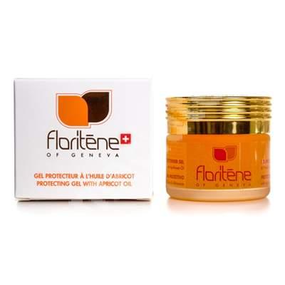 Gel de protectie cu ulei de caise, 50 ml, Floritene