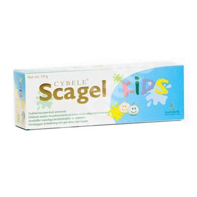 Gel impotriva cicatricilor pentru copii Scagel Kids, 19 g, Cybele