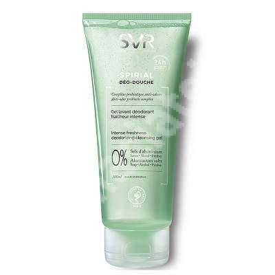 Gel lavant deodorant Deo Douche Spirial, 200 ml, SVR