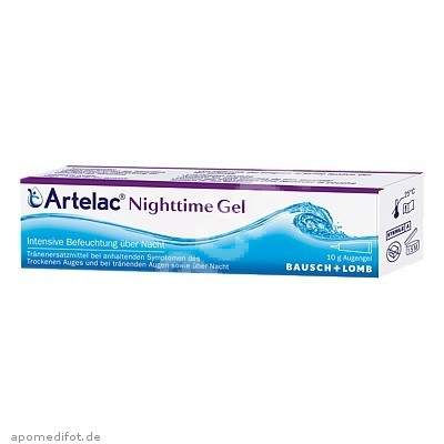Gel oftalmic Artelac Nighttime, 10 g, Bausch + Lomb