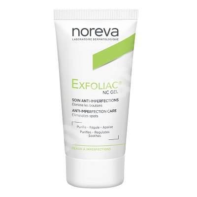 Gel pentru ingrijire anti-imperfectiuni Exfoliac-NC, 30 ml, Noreva