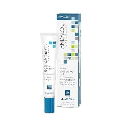 Gel pentru tratamentul local al imperfecțiunilor tenului Clear Skin Andalou, 18 ml, Secom