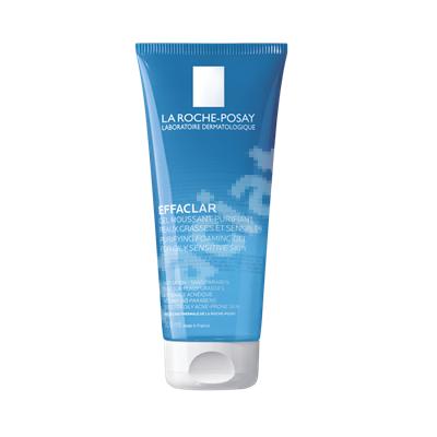 Gel spumant purifiant piele grasa Effaclar, 300 ml, La Roche-Posay