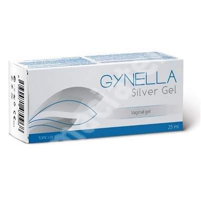 Gel vaginal Gynella Silver Gel, 25 ml, Heaton