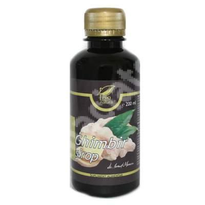 Ghimbir sirop, 200 ml, Pro Natura