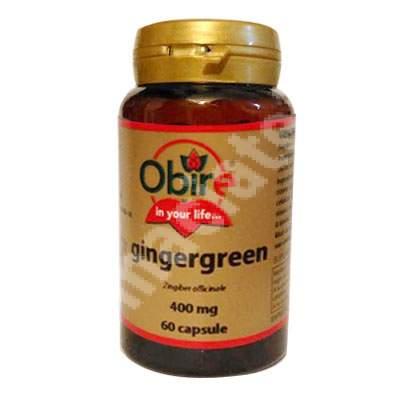 Gingergreen, 60 capsule, Obire