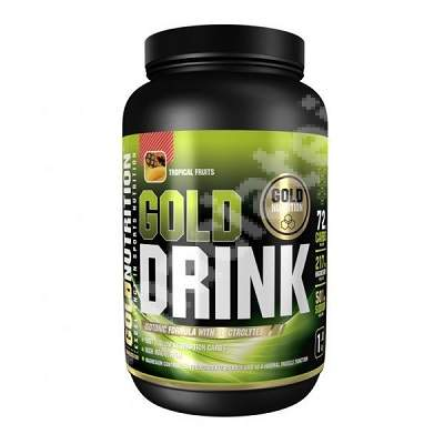 Gold Drink Tropical, 1 Kg, Gold Nutrition