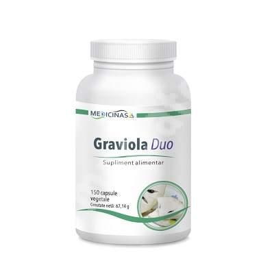 Graviola Duo Medicinas, 150 capsule, Sante Verde Plus