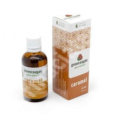 Green Sugar lichid Caramel, 50 ml, Remedia