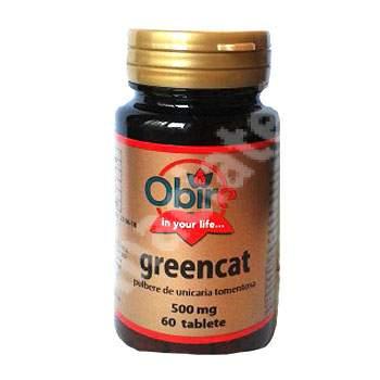 Greencat, 60 tablete, Obire
