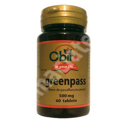 Greenpass, 60 tablete, Obire