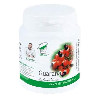 Guarana, 200 capsule, Pro Natura