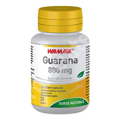 Guarana, 30 tablete, Walmark