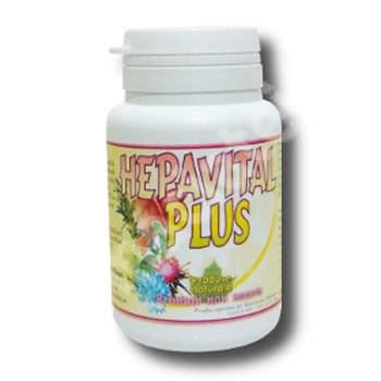 Hepavital Plus, 50 capsule, Vitalia
