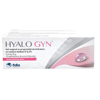 Hyalogyn Gel 30 g, 10 aplicatoare, Fidia Farmaceutici