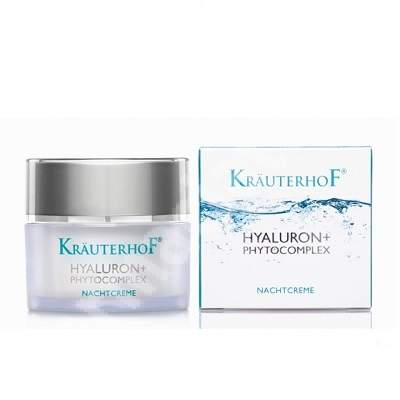 Hyaluron+ Phytocomplex Crema de noapte, 50 ml, Krauterhof
