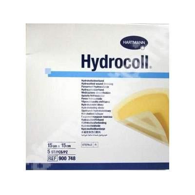 Pansament hidrocoloidal Hydrocoll, 15x15 cm (900748), 5 bucăți, Hartmann