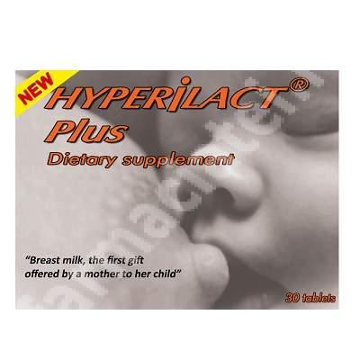 Hyperilact Plus, 30 comprimate, Hypericum