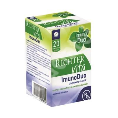 ImunoDuo, 20 comprimate, Gedeon Richter