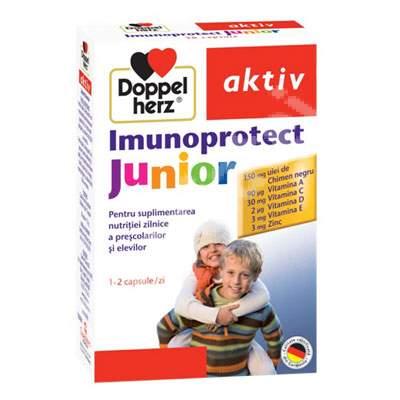 Imunoprotect Junior pentru copii, 30 capsule, Doppelherz