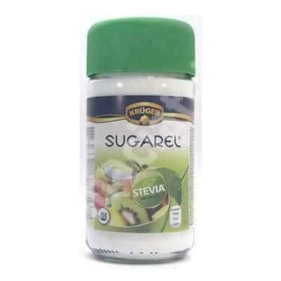 Indulcitor pudra Sugarel Stevia, 75 g, Kruger&Co