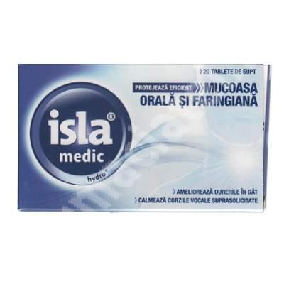Isla medic Hydro, 20 tablete, Engelhard Arzneimittel