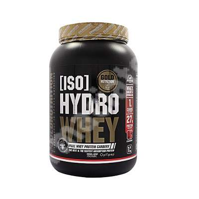 Iso Hydro Whey Capsuni, 1 Kg, Gold Nutrition