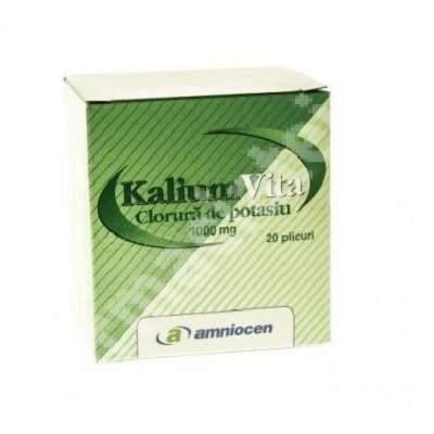 Kalium Vita, 20 plicuri, Amniocen