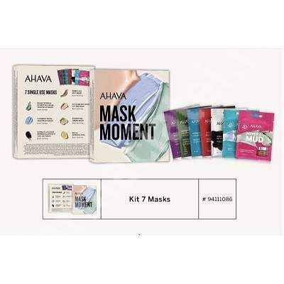 Kit 7 Masks Moment 94111086, Ahava