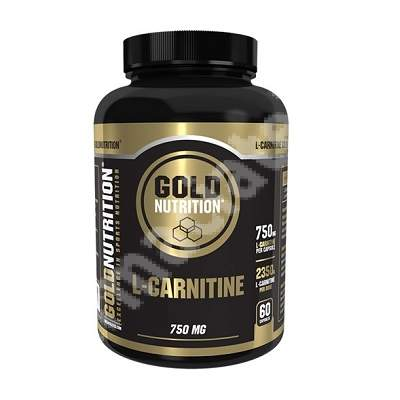 L-carnitine 750 mg, 60 capsule, Gold Nutrition