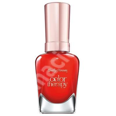 Lac de unghii Argan Color Therapy 340 Red-iance, 14.7 ml, Sally Hansen