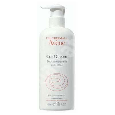 Lapte de corp Avene Cold Cream, 400 ml, Pierre Fabre
