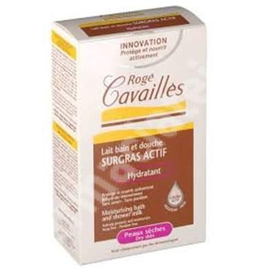Lapte hidratant de baie si dus pentru piele uscata, 300 ml, Roge Cavailles
