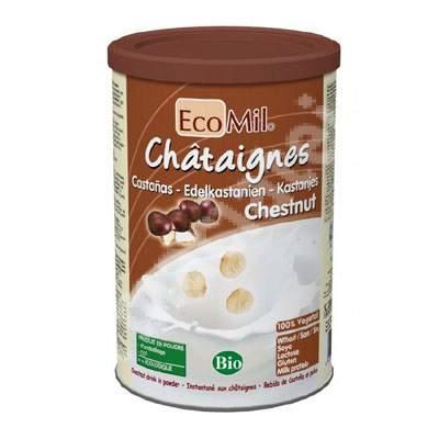Lapte praf Bio din castane, 400 g, Ecomil