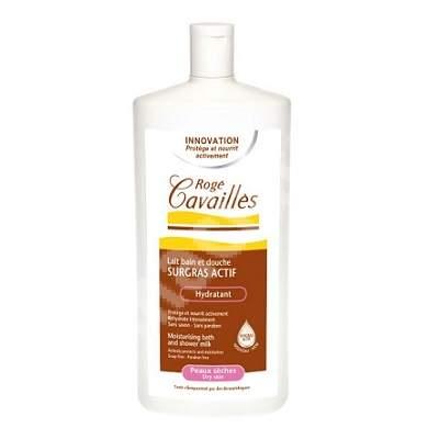 Lapte surgras hidratant de baie si dus pentru pielea uscata, 300 ml, Roge Cavailles