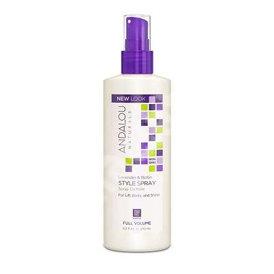 Lavender & Biotin Full Volume Style Spray, Andalou, Secom