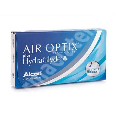 Lentile de contact -2.25 Air Optix HydraGlyde, 6 bucati, Alcon