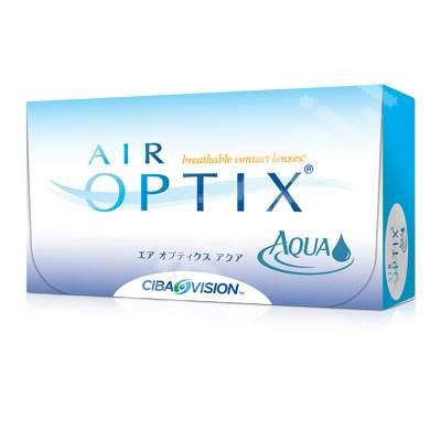 Lentile de contact Air Optix Aqua, -3.25, 6 bucati, Alcon