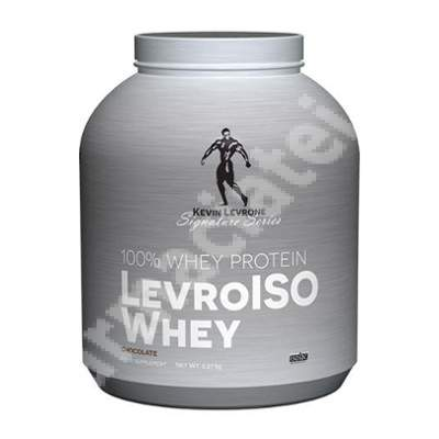 Levro Iso Whey cu aroma de ciocolata, 2.27 kg, Kevin Levrone