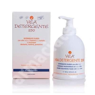 Lichid dermatologic de spalare cu Vitamina E VEA Detergente, 250 ml, Hulka