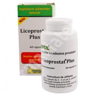 Licoprostat Plus, 60 capsule moi, Hofigal