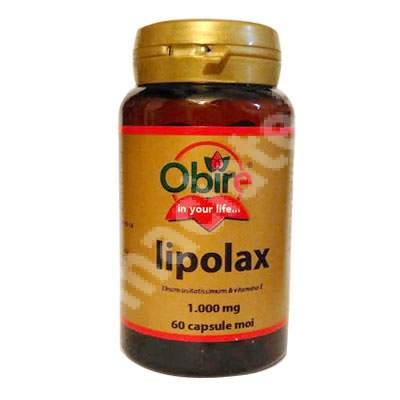 Lipolax, 60 capsule, Obire
