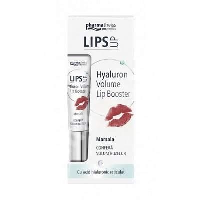 Lips Up Hyaluron Volume Lip Booster Marsala, 7 ml, Zdrovit