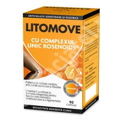 Litomove cu complex Rosenoids, 90 capsule, Orkla Health
