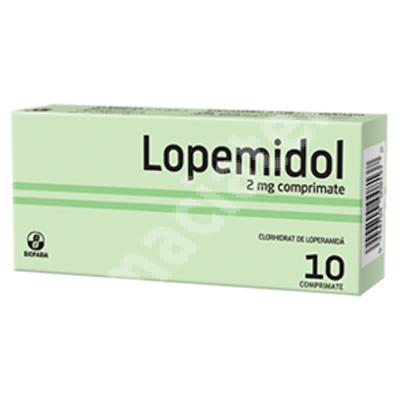 Lopemidol 2 mg, 10 comprimate, Biofarm